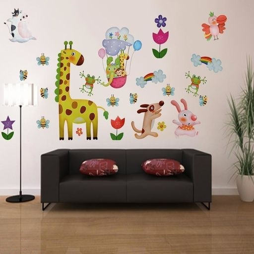 Animal Wall Sticker for Kids Room