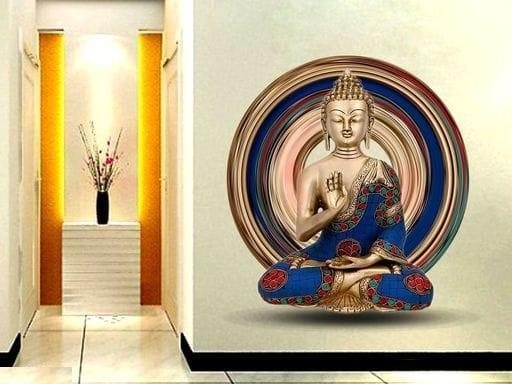 Buddha 3D Wall Sticker (2)