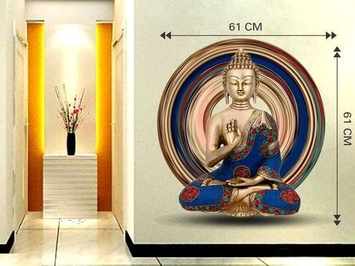 Buddha 3D Wall Sticker (3)