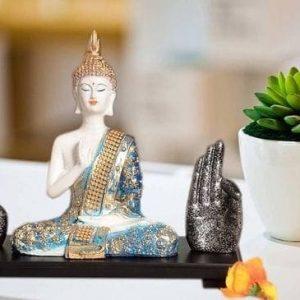 Buddha with Dhyan Mudra Hands