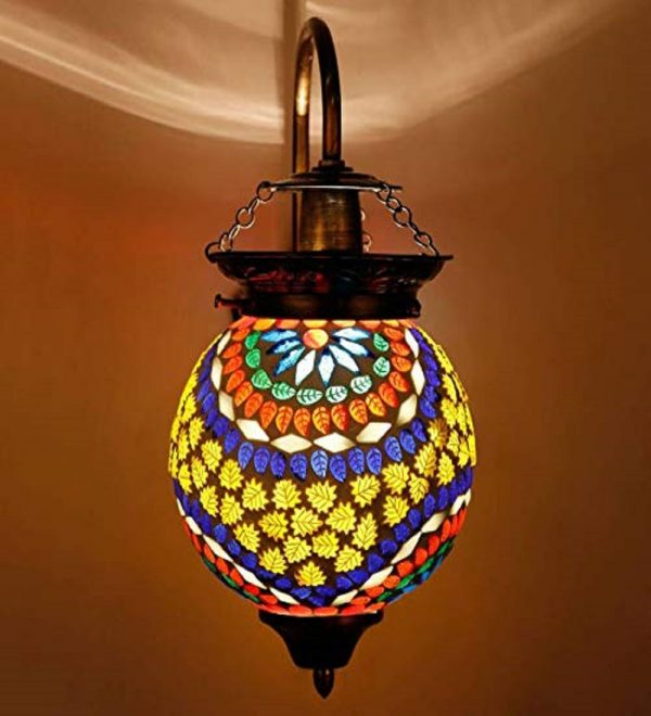 Multicolor Wall Hanging Lamp (2)