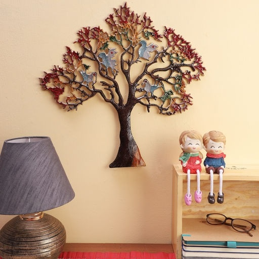 Tree with Birds Wall Hanging