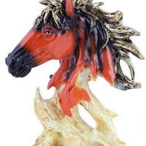 Brown n White Horse Idol