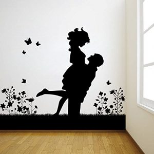 Lovely Couple Wall Sticker