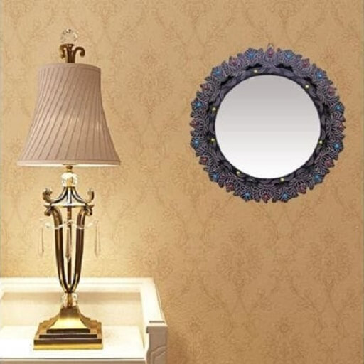 Wall Mirror with Wooden Frame (3)