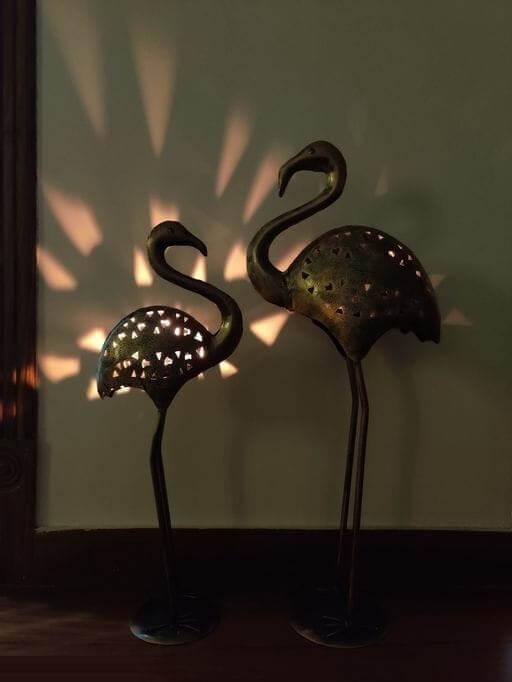 Swan Tea Light Holder (2)